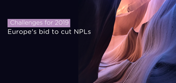 Challenges for 2019: Europe's bid to cut NPLs.