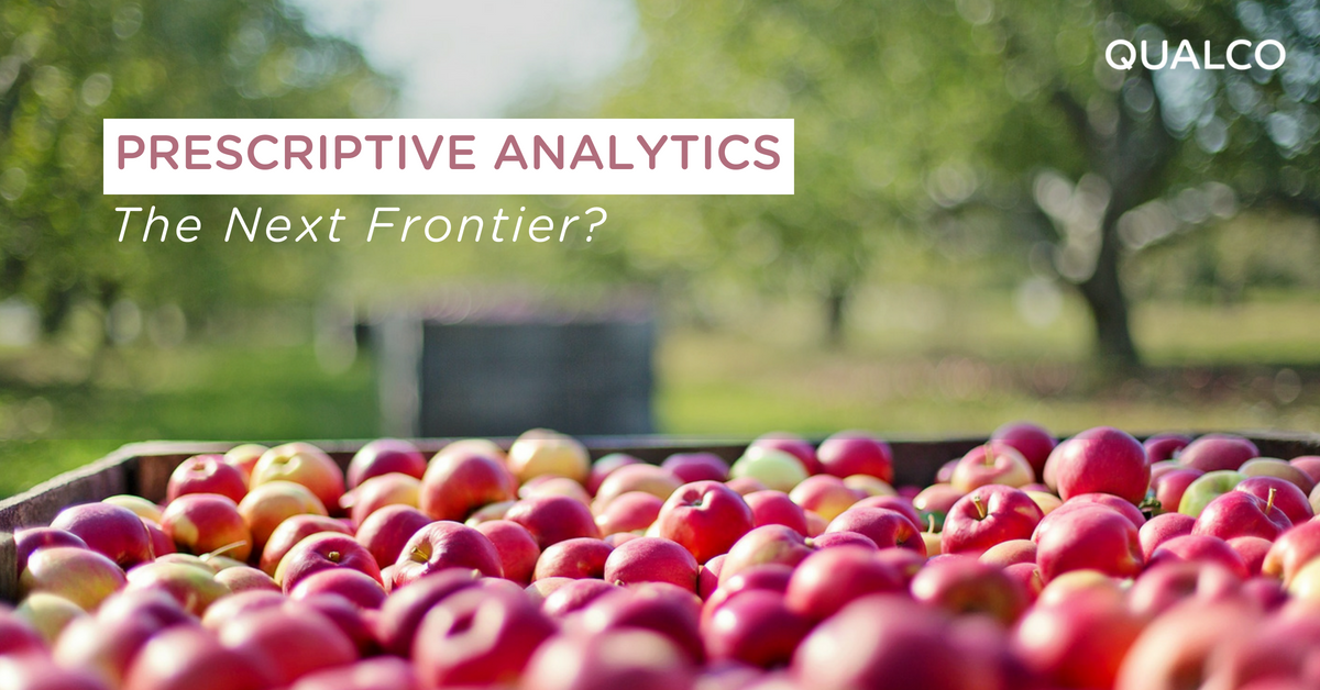 Prescriptive Analytics: The Next Frontier?