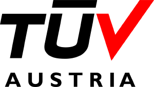 TUV Austria certification EN ISO 9001:2015 logotype